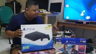 Sony PS4 Indonesia, Unboxing & Setup pertama kali