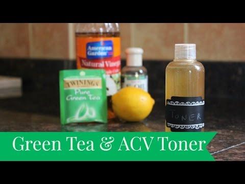 DIY Green Tea & ACV Toner   The Sewist