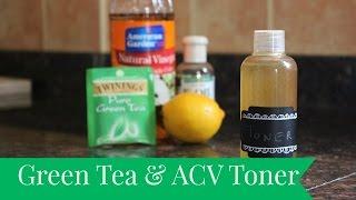 DIY Green Tea &amp ACV Toner  The Sewist