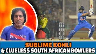 Sublime Kohli & Clueless South African bowlers   2nd T20   IND vs SA