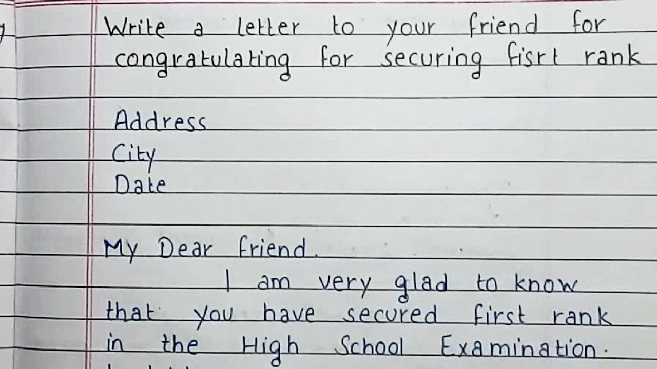 Congrats Letter On Achievement from i.ytimg.com