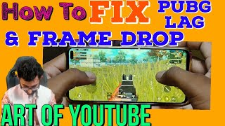Fix Pubg/COD/FreeFire Lag/Frame Drop Without Root And Pc. The Art Of Youtube.