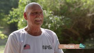 De Wereld Rond Met 80-Jarigen: Ted doet Rico Verhoeven na