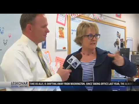West Yellowstone School awarded One Class At A Time check