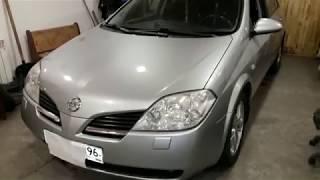Nissan Primera 2004 г. Ремонт стартера, замка двери.