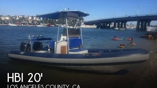 Used 1989 HBI 20.6 Rigid Inflatable Boat for sale in Lakewood, California
