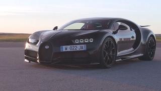 Essai Bugatti Chiron 2017