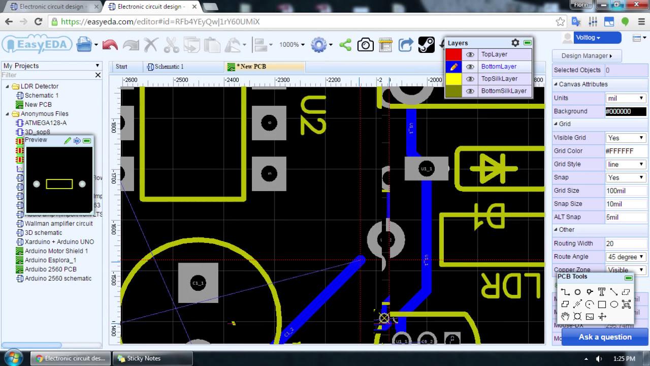 Voltlog #58 - Easyeda Free Online Pcb Design Software Review  Voltlog 21:49  HD