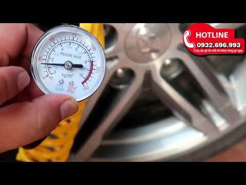 Máy Bơm Hơi Mini đa Năng   Bơm Lốp ô Tô/xe Máy/xe đạp/ Bóng /xuồng...