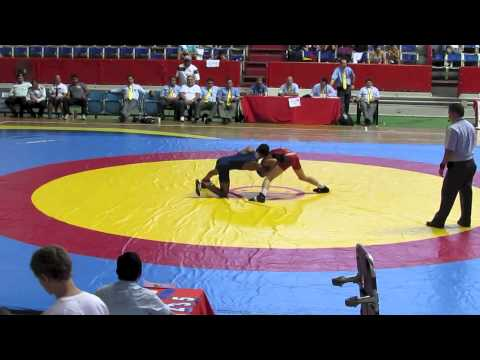 2012 Cadet Pan-American Championships: 46 kg Mason Daugherty (USA) vs. Venezuela
