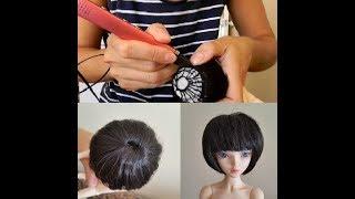 парик для куклы MiniFee своими руками с помощью 3D ручки