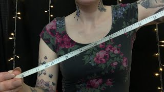 ASMR MEASURING YOU FOR CHANGE