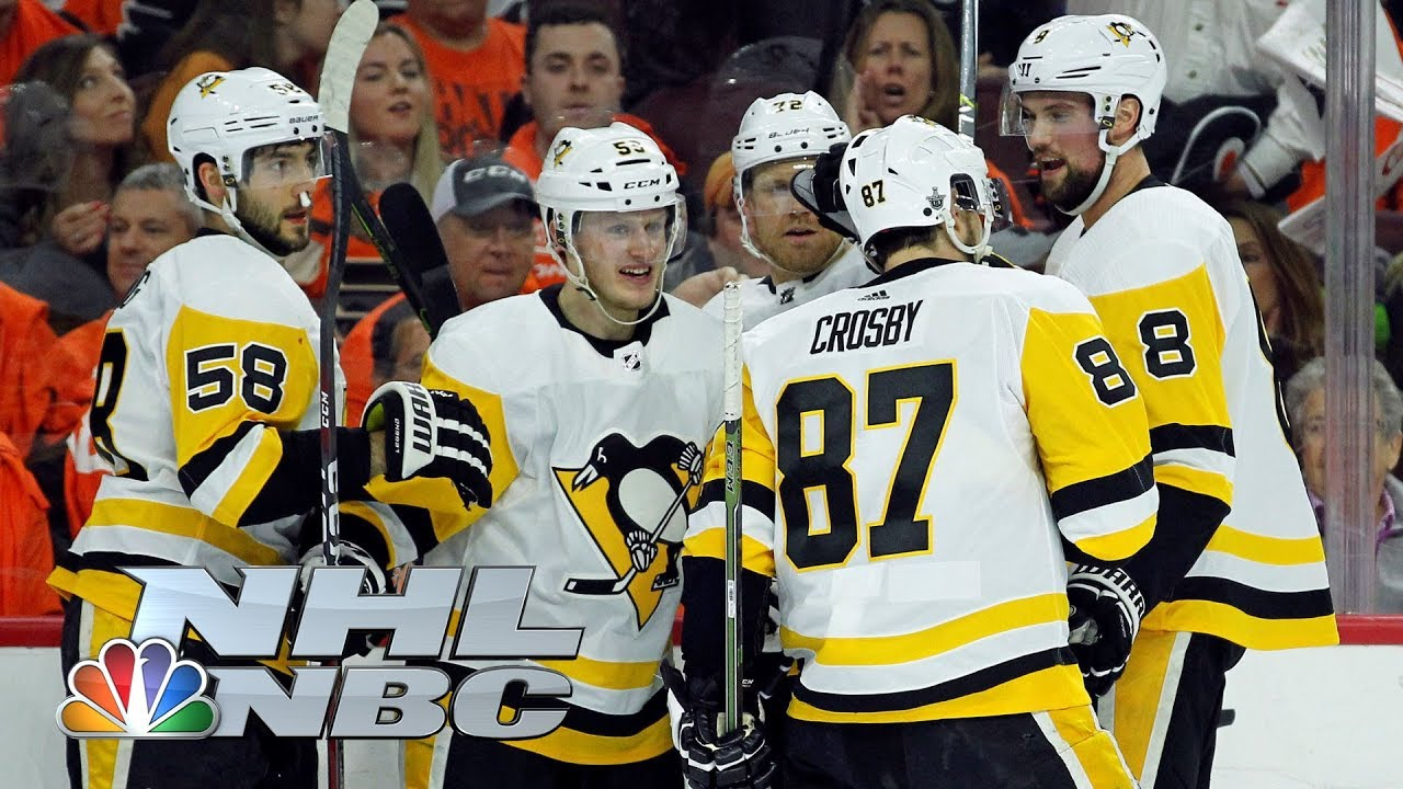 Pittsburgh Penguins vs. Philadelphia Flyers I Game 3 I NHL Stanley Cup Playoffs I NBC Sports