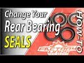 How To Change The Rear Wheel Bearing Seals On Your Dirt Bike | Fix Your Dirt Bike.com