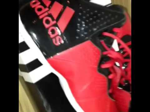 63f5c7b3a63fb Adidas Pro Smooth feather - YouTube