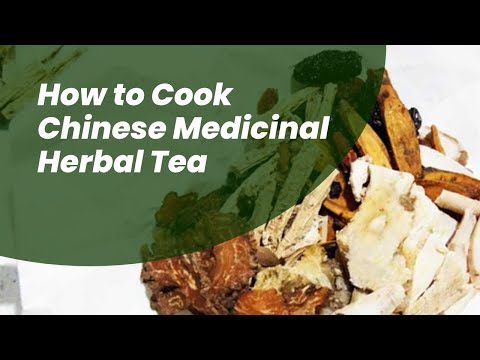How to Cook Chinese Herbal Medicine Formula in 4-minutes