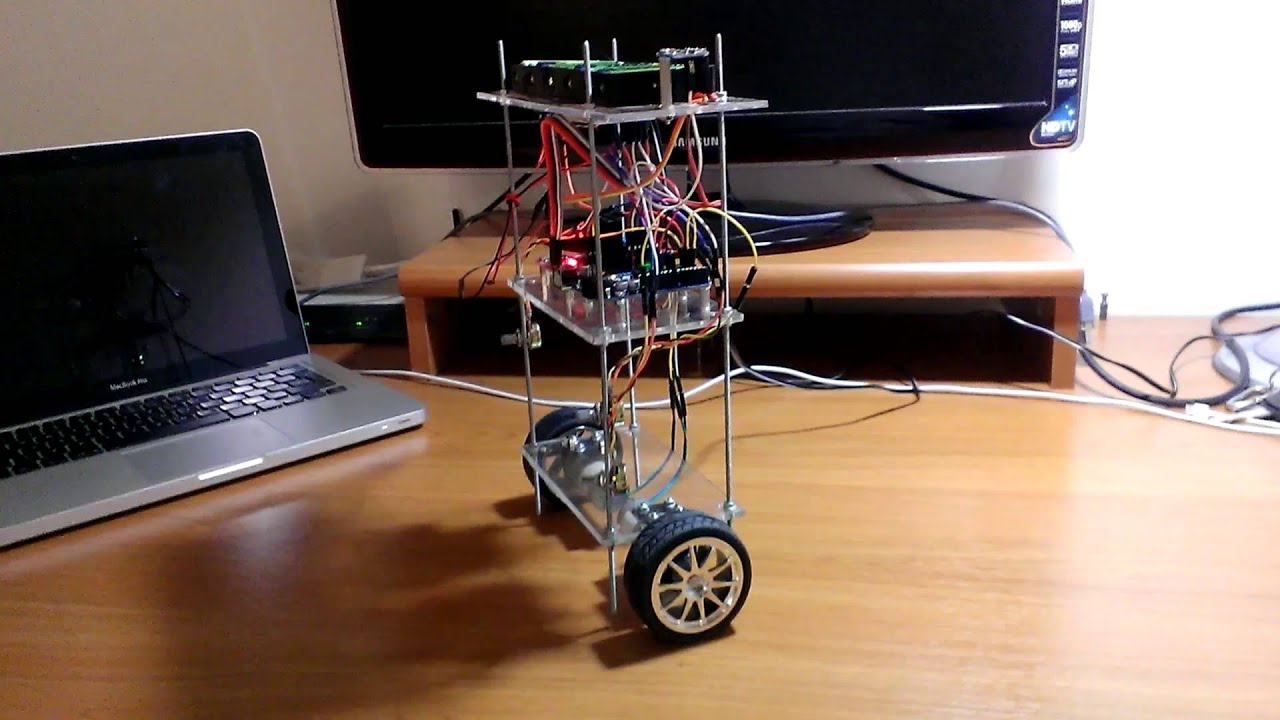 Arduino self balancing robot youtube