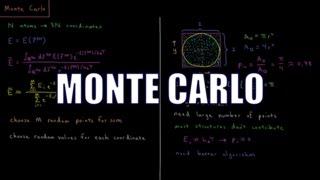 Computational Chemistry 3.10 - Monte Carlo