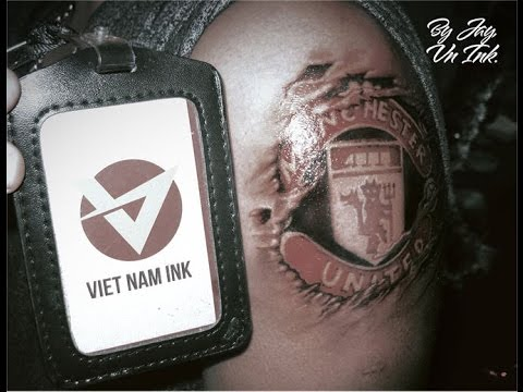 vietnam ink manchester united tattoo by jay youtube. Black Bedroom Furniture Sets. Home Design Ideas