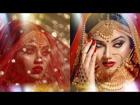 Indian Bridal Makeover | Makeup Artist Jyoti Shaw | Photographer LOukik Das |