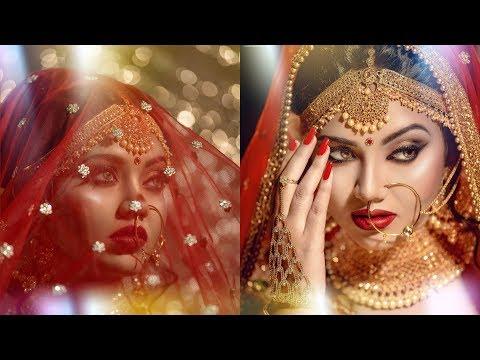 Indian Bridal Makeover | Makeup Artist Jyoti Shaw | Photographer LOukik Das |