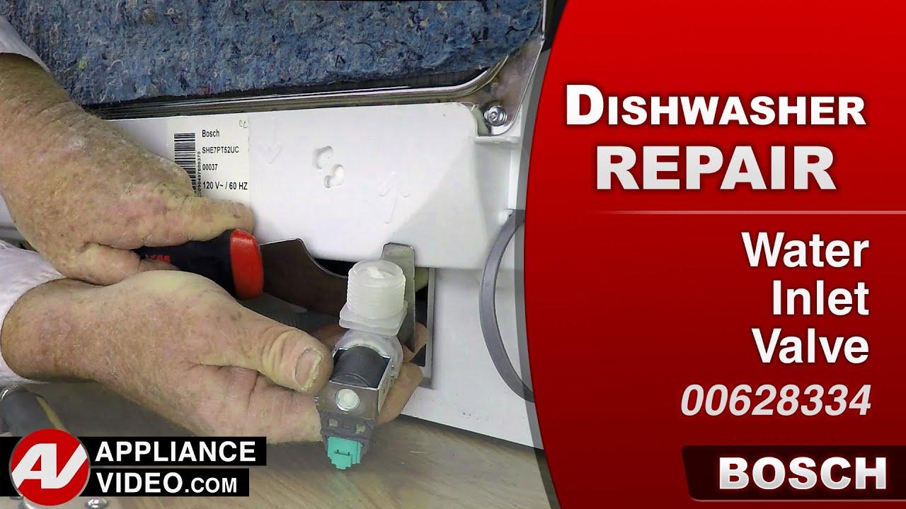 Bosch Dishwasher - Water Inlet Valve repair