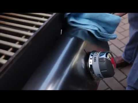 Stainless Steel Cleaning -Weber Grills