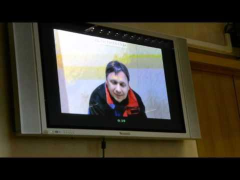 Игорь Туровский слушает определение Рязанского областного суда