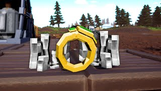 Crafting Gigantic Rings From An Automated Mining Base in Hydroneer