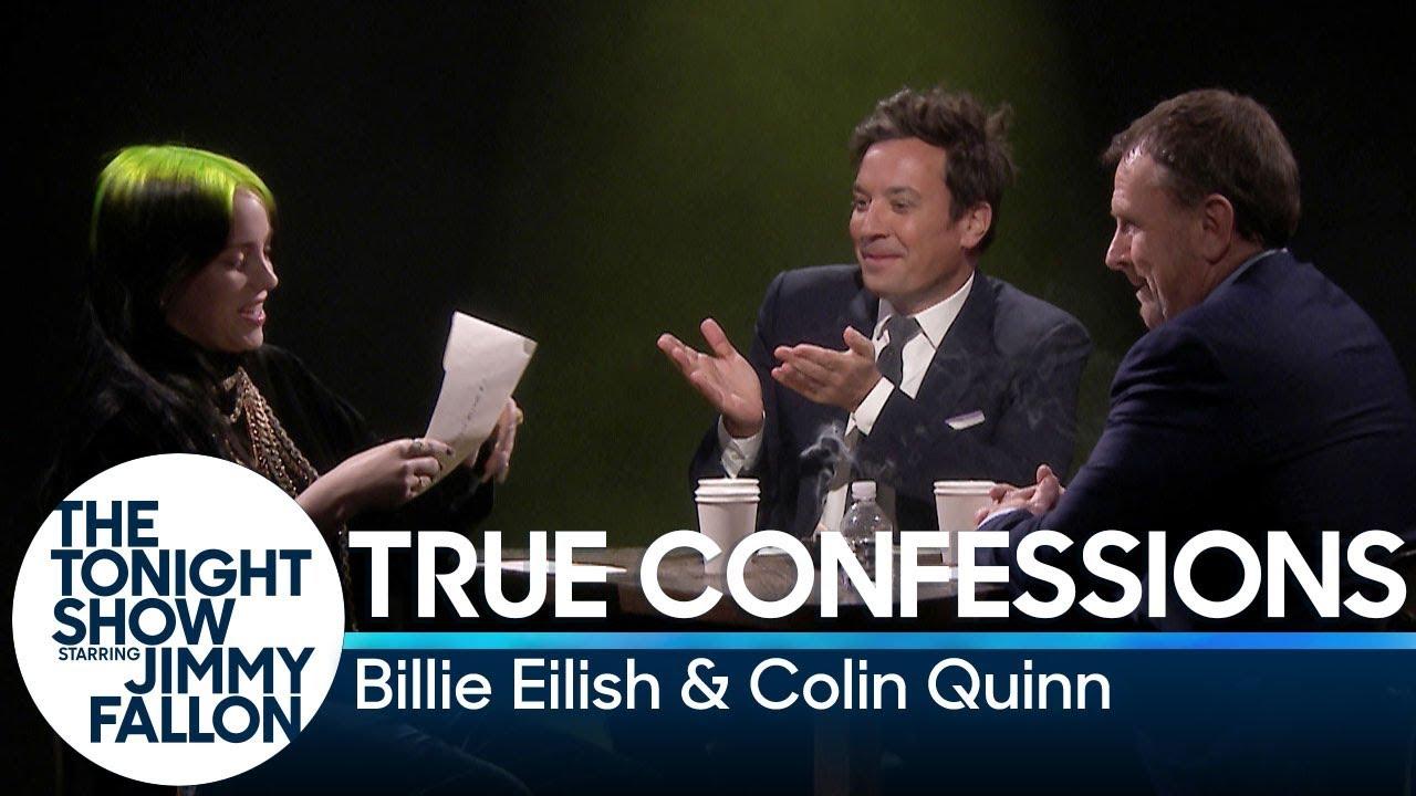 Billie Eilish Talks World Tour, Plays 'True Confessions' on 'Fallon'