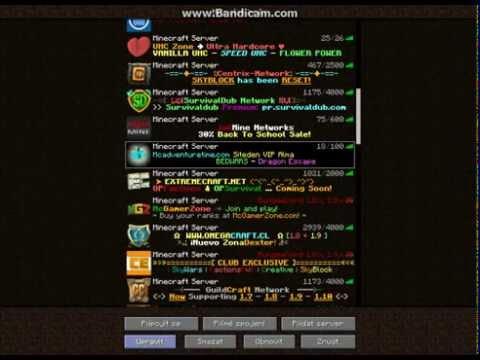 Zoznamka Minecraft servery