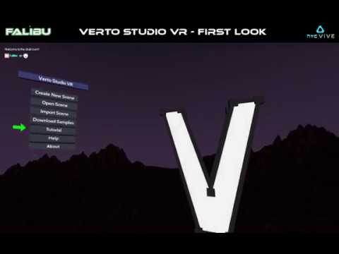 Verto Studio VR [3d Modeling Software] [First Look] [User Made Video] [FIRST RETOPOLOGY IN VR!]