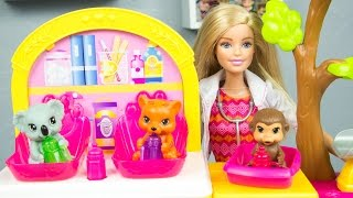 Barbie Zoo Doctor Toy Playset Review by Kinder Playtime