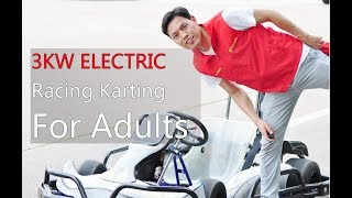 New 3000W 60V Lithium Battery Adult Electric Racing Karting EG3002