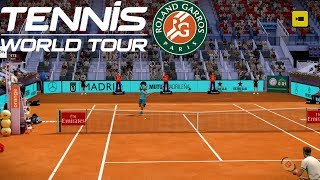 Tennis World Tour - ROLAND GARROS EDITION - Stefanos Tsitsipas vs Rafael Nadal