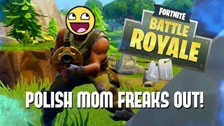 Fortnite/Polish MOM gets Angry On Fortnite!/Funny Moments