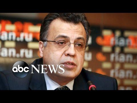 Russian Ambassador to Turkey Assassinated