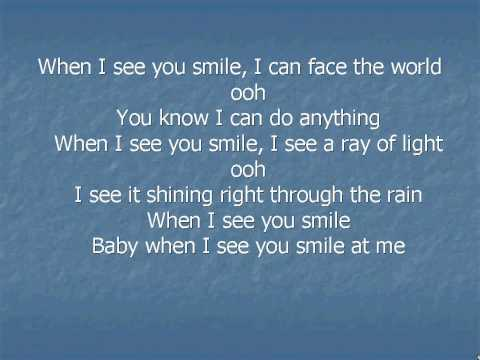 Uncle Sam - when i see you smile