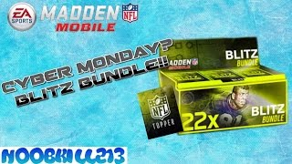 Madden Mobile 16 Cyber Monday? Blitz Bundle!
