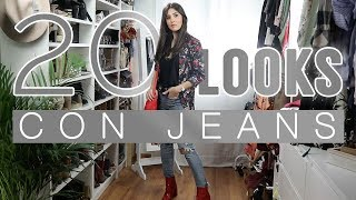 Moda | 20 looks con jeans: pitillos, boyfriend, mom jeans...