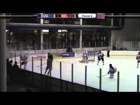 HIGHLIGHTS: Eugene Generals vs. Bellingham Blazers - 1/5/13