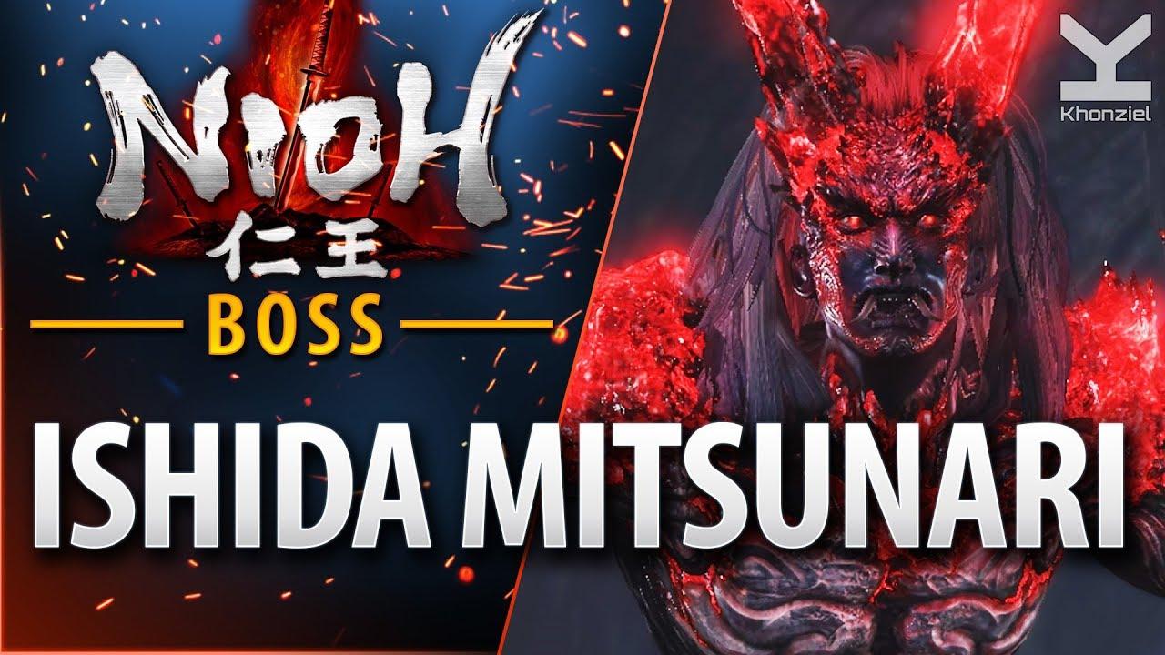 Nioh - Boss - Ishida Mitsunari - A Defiled Holy Mountain
