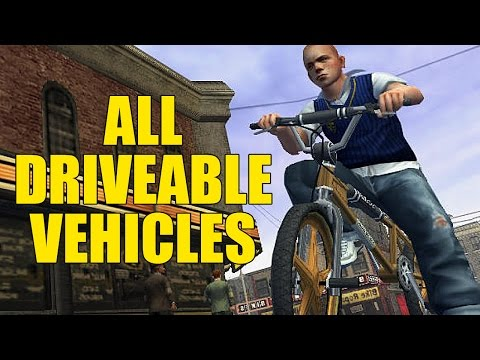 Vehicles Guide - Bully (PC)