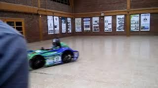 La técnica presentó el auto eléctrico que competirá en Desafío Eco 2018