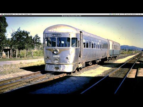 Suburban Trains Brisbane 1984 & 1993