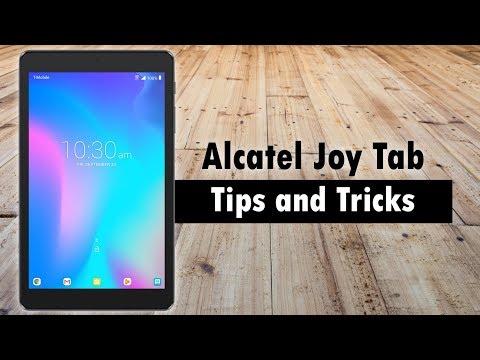 Alcatel Joy Tab Tips And Tricks