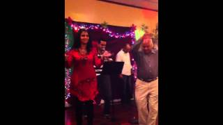 Subhash Kodnad singing 'Dekha Na Hai Re' at Induz Karaoke event (2012)