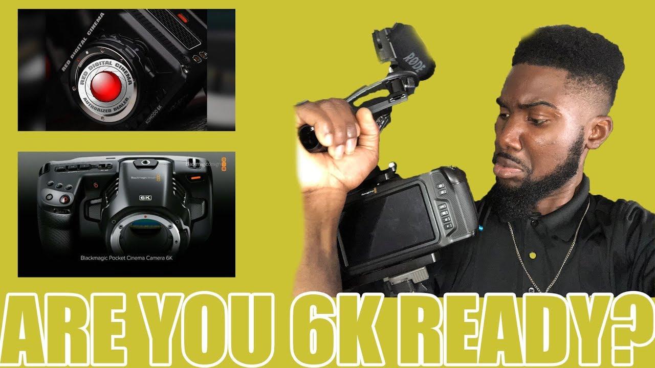 Blackmagic Pocket 6k Vs Red Komodo 6k Cinema Camera Worth The Upgrade Youtube