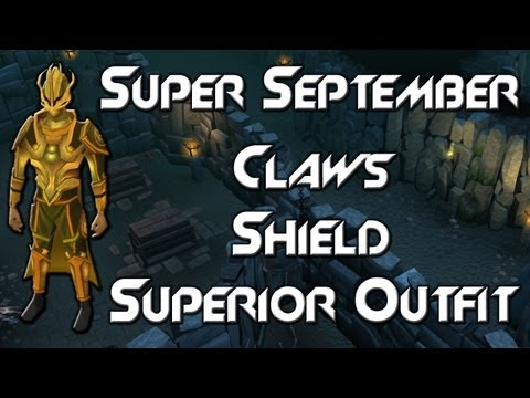 Super September: Superior Outfit, Lightning, Shield, Claws
