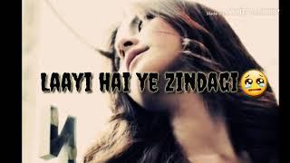 Khaani Heart touching sad status